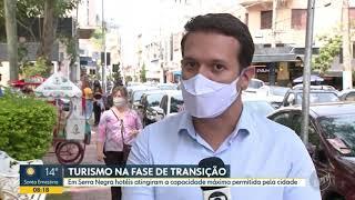 03/05/2021 Bom Dia Cidade  - Na fase de transição, hotéis em Serra Negra atingem capacidade máxima