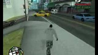 GTA San Andreas Super Punch Cheat