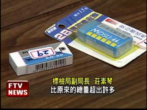 30品牌橡皮擦檢測 2件塑化劑超標-民視新聞 - YouTube
