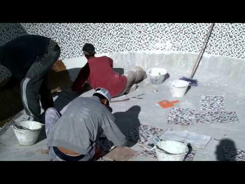 colocacion de mosaico veneciano