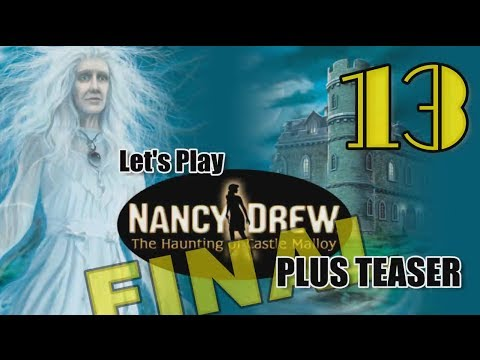 Nancy Drew 19: Haunting of Castle Malloy [13] w/YourGibs - ROCKET SHIP - ENDING - TEASER