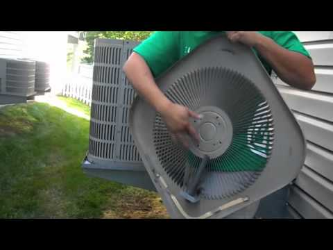 Do it yourself replacing bad air conditioning condenser for Ac condenser fan motor replacement
