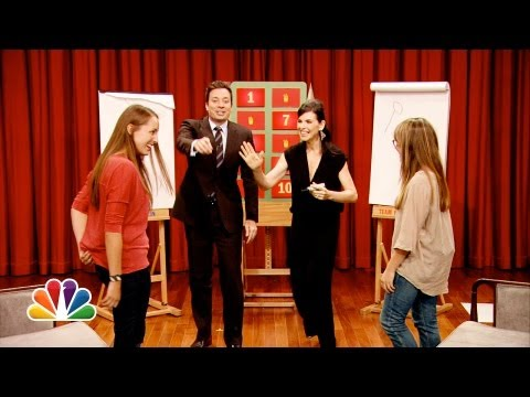 Pictionary with Julianna Margulies and Jimmy Fallon Part 2