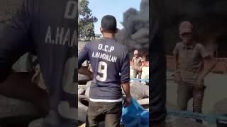 حريق بسوق المتلاشيات انزكان