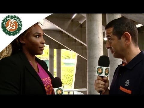 2014 French Open. Flashback with Serena Williams