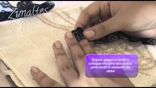 Zimaltes Tutorial 02 Unhas De Renda