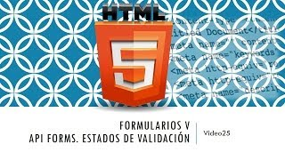 Curso de HTML 5. Parte 25