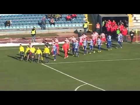 OFK Beograd 1:2 Crvena zvezda 30.11.2013. golovi i šanse
