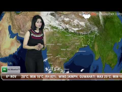 06/11/13 - Skymet Weather Report for India