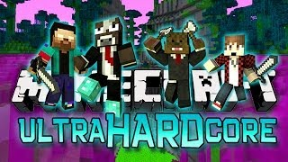 Minecraft: Ultra Hardcore! Episode 3 - TREE FARM! (UHC Mod)
