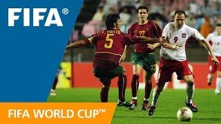 World Cup Highlights: Poland - Portugal, Korea/Japan 2002