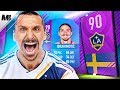 FIFA 18 SBC IBRAHIMOVIC REVIEW 90 SBC IBRAHIMOVIC PLAYER REVIEW FIFA 18 ULTIMATE TEAM