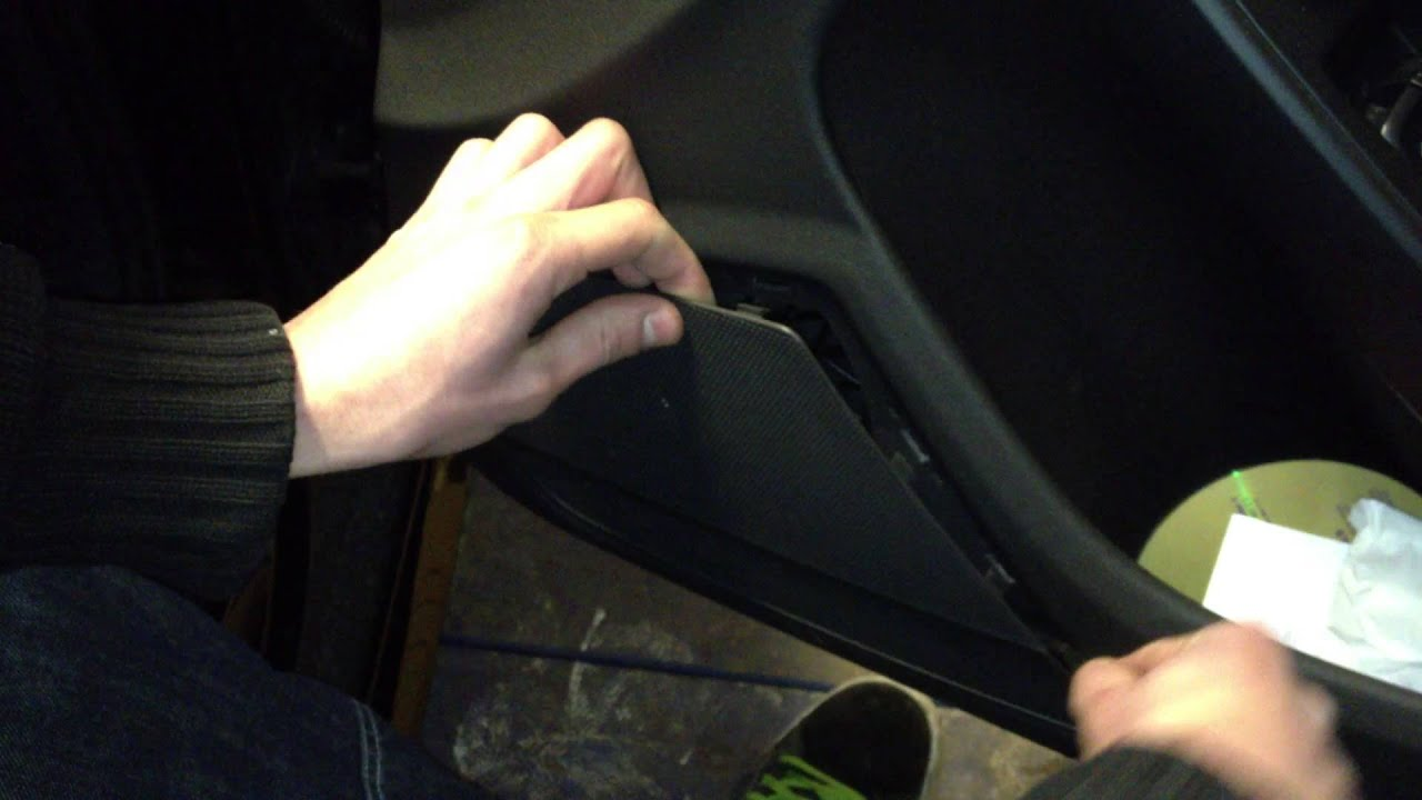 Audi A4 S4 B8 Avant Door Speaker Trim Removal With Bojo