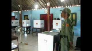 TPS pemilu 2014 Dapil 5 Klaten JawaTengah [ Jangan Golput ]