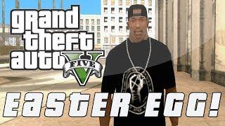 "Grand Theft Auto 5 Secret CJ ""Surveillance"" Easter Egg"