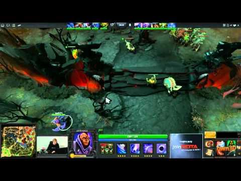 Dota 2 - ESWC Semi Final - Na'Vi vs Monkey