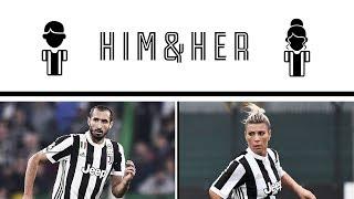 #HimAndHer Ep. 3! Chiellini answers Sodini's questions!