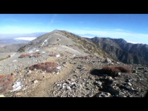 7th ascent of Mt. San Antonio: no snow, to & from the summit