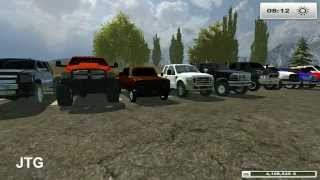 Farming Simulator 2013 Mods- Dodge, Chevy, Ford, GMC