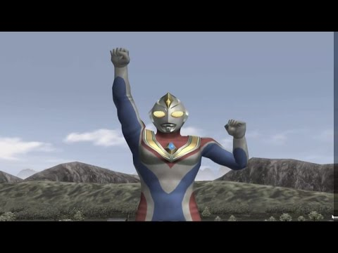 Sieu Nhan Game Play | Ultraman Dyna đấu với Ultraman Tiga | Game Ultraman figting eluvation 3