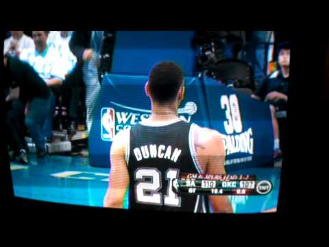 Spurs @ Thunder West Finals Game 6 Overtime Highlights