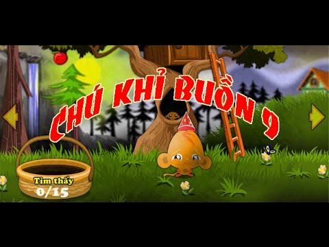 Game chú khỉ buồn 9 - Video hướng dẫn chơi game 24H