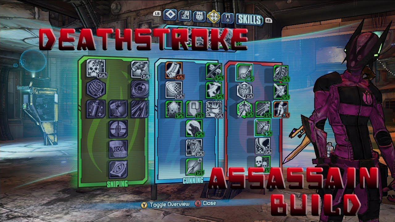 Borderlands  Assassin Build Cac