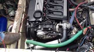 Двигатель BMW M57D30 установлен на Лодку