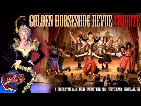 1080P Golden Horseshoe Revue Tribute - Limited Time Magic Disneyland Event