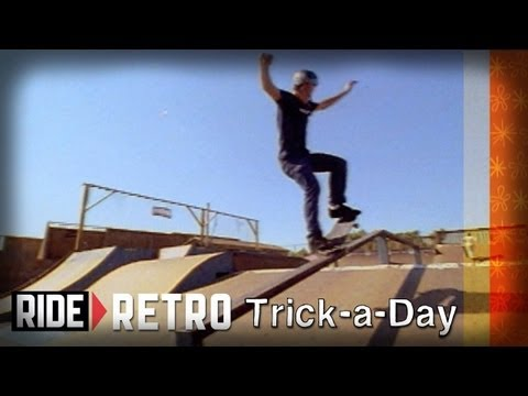 How-To 5-0, Nosegrind & Crooked Grind with Tony Hawk & Brian Sumner - Retro Trick-a-Day