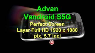 Advan Tablet Vandroid S5G Hp Android Kamera 18MP Harga N