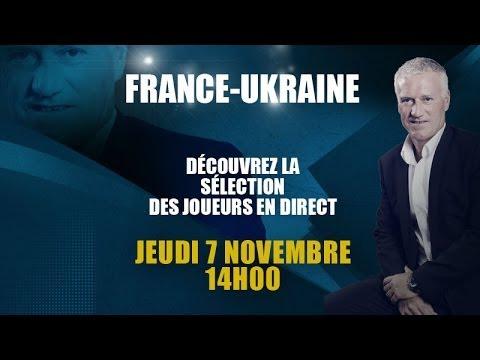 Conférence de presse de Didier Deschamps (7 novembre 2013)
