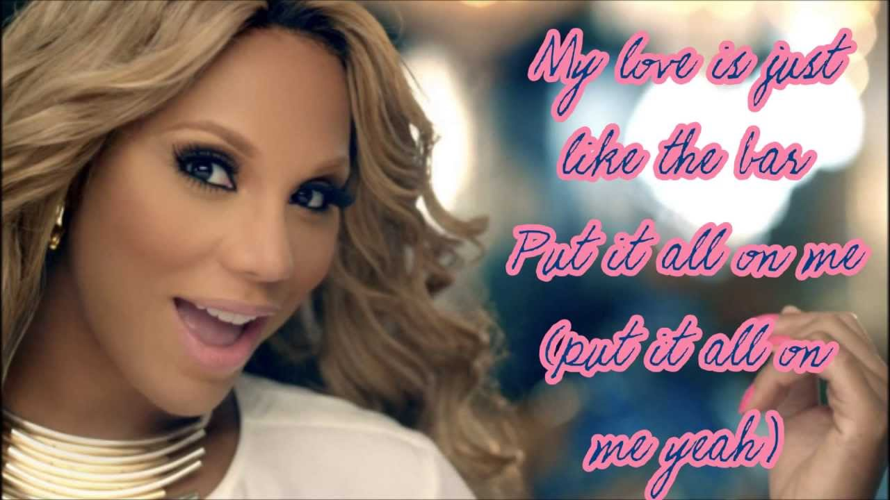 tamar braxton the one lyrics hd youtube