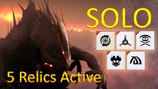 Extinction: Point Of Contact Solo With 5 Relics Active