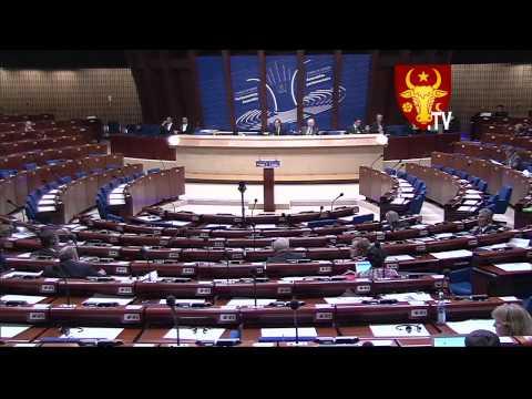 23.04.12 APCE, Voronin acuză AIE, Ghileţchi dă replică