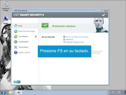 al intentar actualizar la base de datos de firmas de virus - YouTube