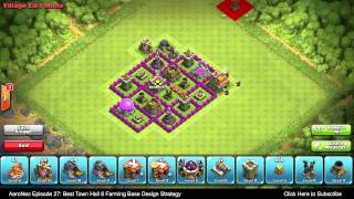 BEST Town Hall Level 6 (TH6) Farming Base Design Layout
