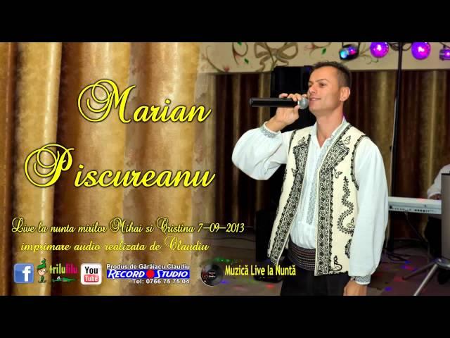 Marian Piscureanu LIVE Nunta Mihai si Cristina part 1 Imprimare Audio Claudiu Record Studio