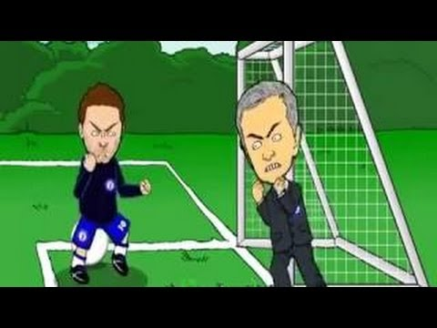 Juan Mata vs Jose Mourinho - Special One Fuck you: Funny Toon