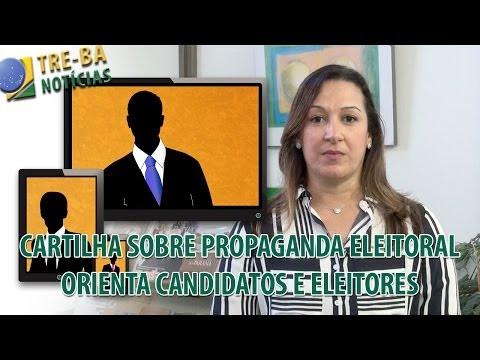 TRE-BA Notícias: Cartilha sobre propaganda eleitoral