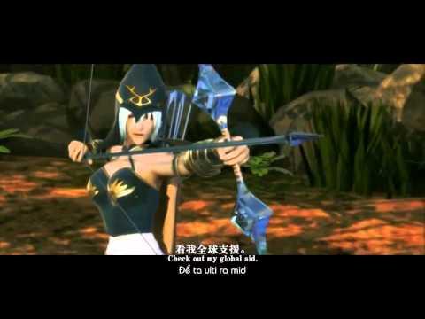 Liên Minh Huyền Thoại Tập 7   Lalala Demacia !   YouTube