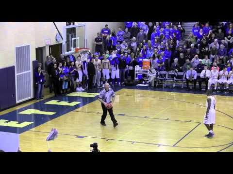 NH Sports Page Basketball Lebanon vs Portsmouth DII Semi-finals Highlights 3-14-14