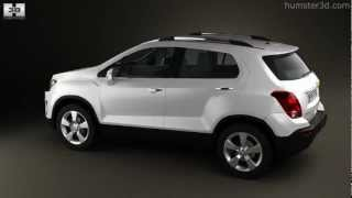 Chevrolet Tracker 2013 By 3D Model Store Humster3D