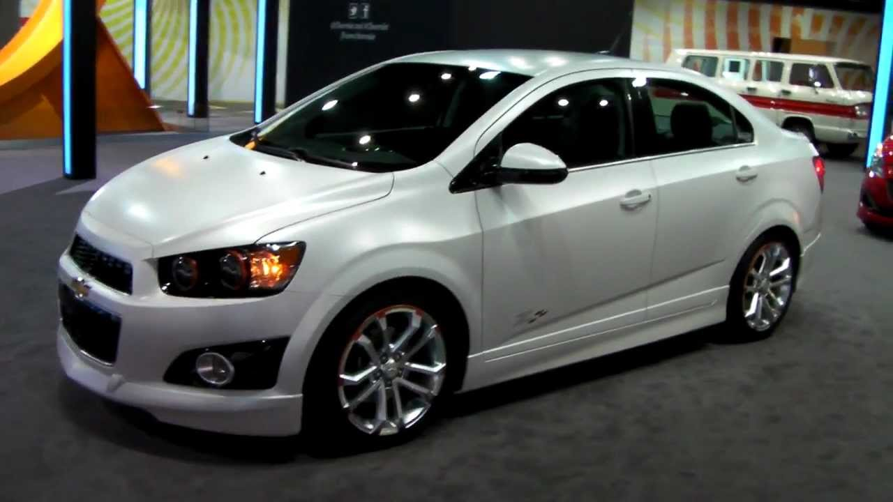 2013 Chevrolet Sonic LTZ Z Spec - YouTube