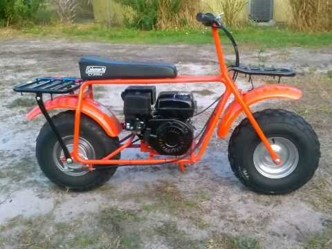 Adult Mini Bikes With Big Tires Coleman CT U off road mini