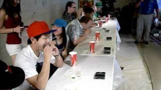 Spam Musubi Eating Contest @ Aki Matsuri 2010 view on youtube.com tube online.