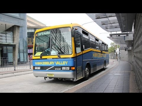 Hawkesbury Valley Buses M/O 8725 - Volvo B10M Mk 4 (ZF/CC 310) - Rail Replacement