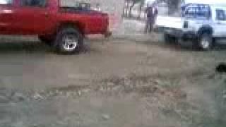 Camionetas Toyotas Tirando