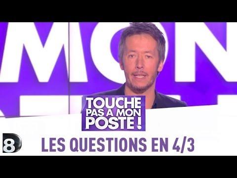Les questions en 4/3 de Jean-Luc Lemoine - TPMP - 22/05/2014