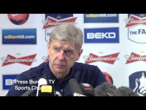 Arsene Wenger Pre Arenal vs Wigan FA CUP Press Conference